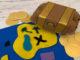 egg carton treasure chest