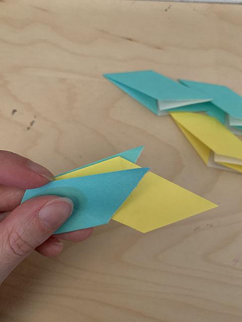 moveable origami ninja star