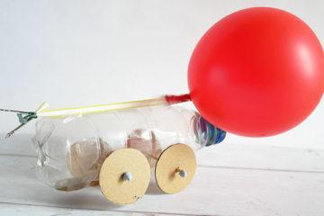 balloon powered car steam challenge