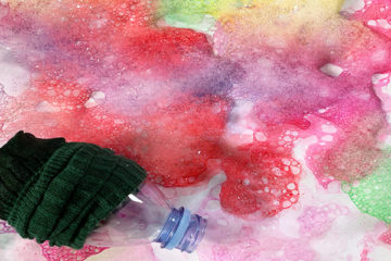 soap bubble painting