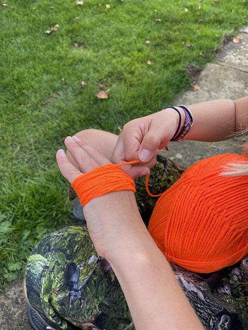 pompom pumpkins